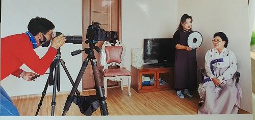 사랑손힐링센터 (11/04) 광주 전남 대촌마을과 양과동 칠석동 일원 장수사진 배부
