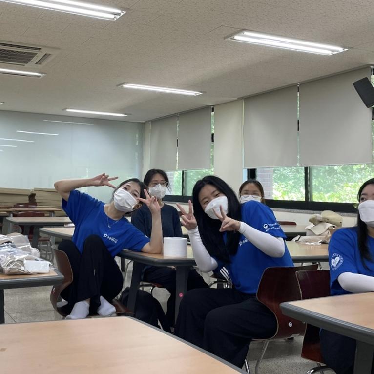 단국대학교 녹지조경학과 과동아리 Club418 농촌재능나눔 활동(2021.07.23) #1