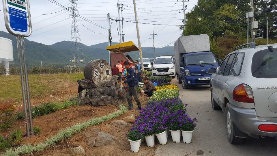 꽃으로 힐링하며 이야기가 형성되는 마을 만들기- 이천 지석리마을(10.15)
