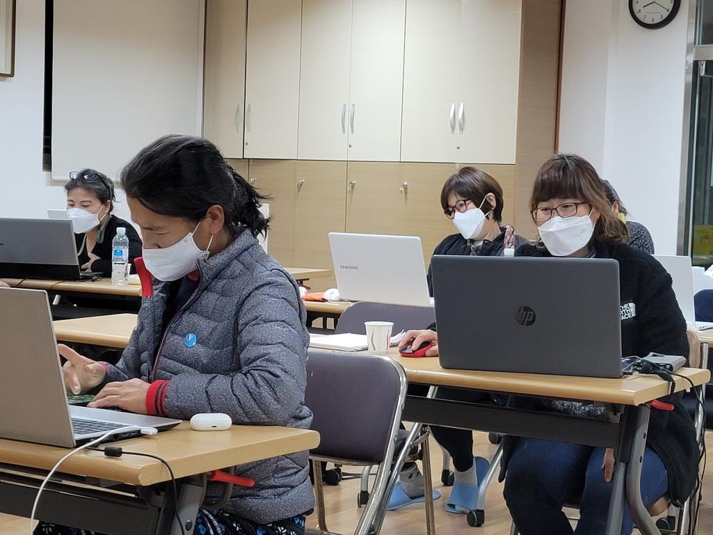 1004재능기부단의 찾아가는 SNS마케팅  순천밤을잊은농부들과(10.12)