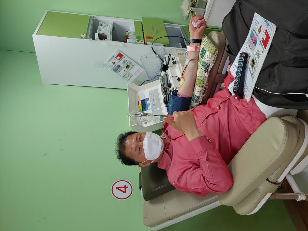 사랑의 헌혈 참여