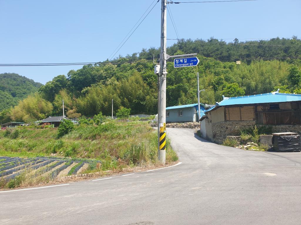 꽃으로 힐링하며 이야기가 형성되는 마을 만들기-임실 청계마을(06.09)