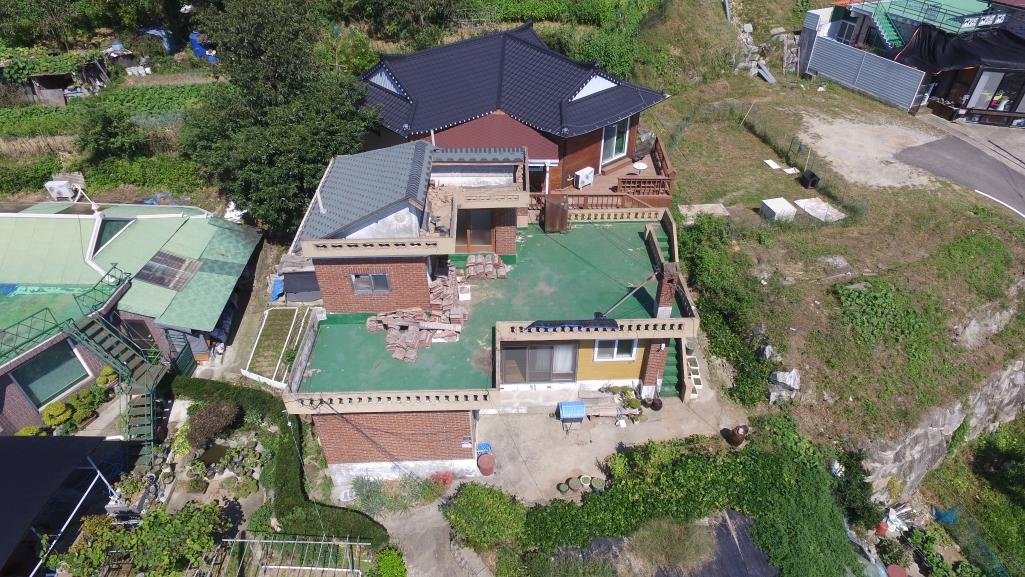 2009199차강화문화협회 사랑의 집고쳐주기 튼튼한 지붕 만들기