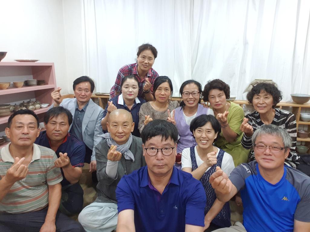 담양 슬로시티 창평에서 진행한 담양밤을잊은농부들 스마트폰을 활용한 마케팅(8.11)